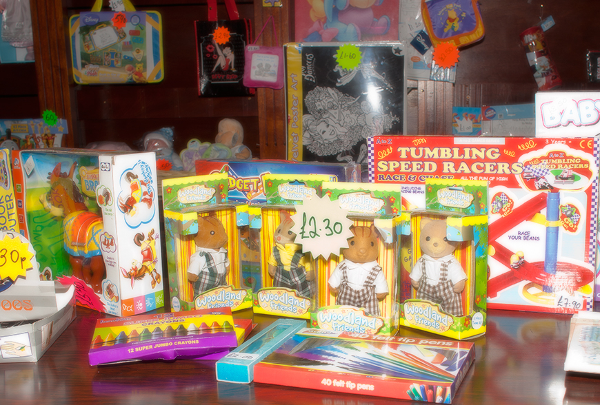 Gifts and Toys at MB's Fun House